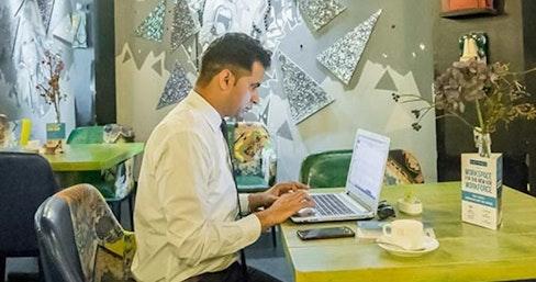 myHQ Coworking Cafe - World Art Dining Punjabi Bagh, New Delhi | coworkspace.com