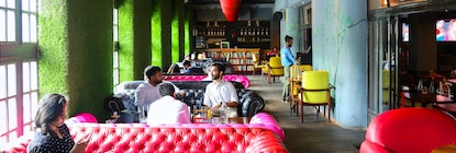 myHQ Coworking in Connaught Place (CP / Rajiv Chowk) - FLYP@MTV Cafe