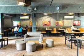 myHQ Qahwa Coworking Cafe, Gurugram