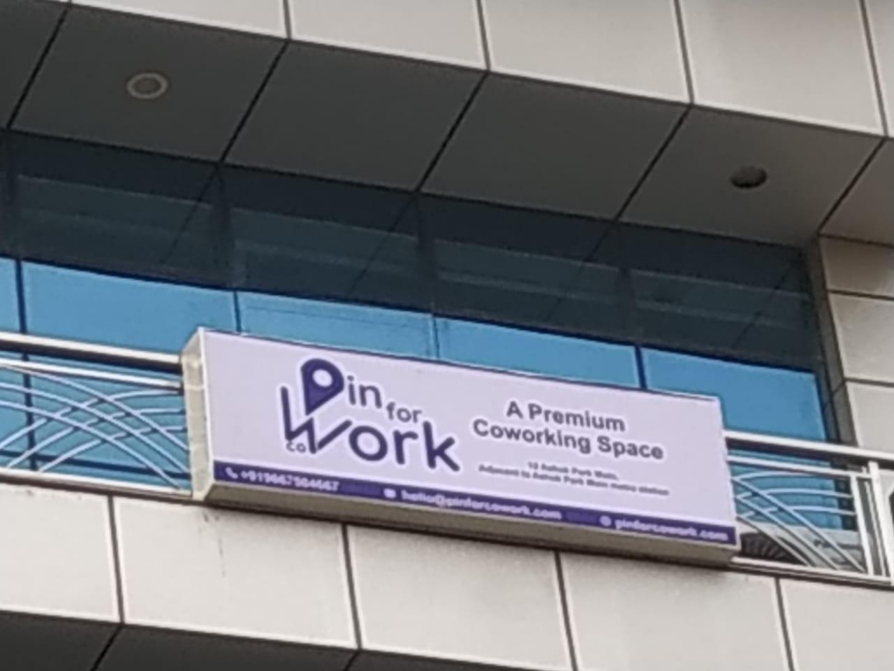 Pin for Cowork, New Delhi