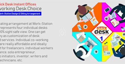 Quick Desk, New Delhi | coworkspace.com
