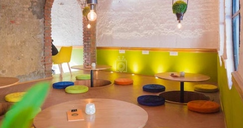 Soho Bistro - myHQ Coworking Cafe in Saket, New Delhi | coworkspace.com