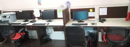South Delhi based Vibrant Coworker Area