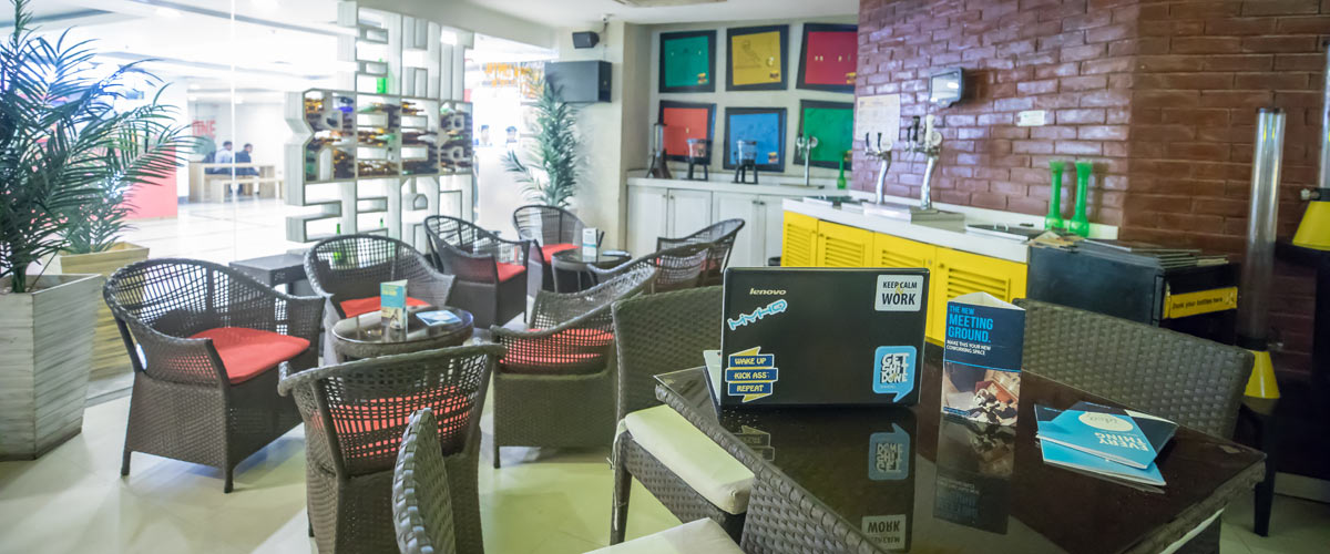 The Beer Cafe - Coworking Cafe Kirti Nagar - myHQ, New Delhi