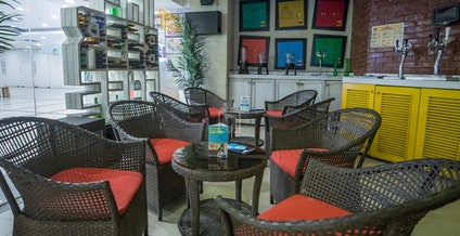 The Beer Cafe - Coworking Cafe Kirti Nagar - myHQ, New Delhi | coworkspace.com