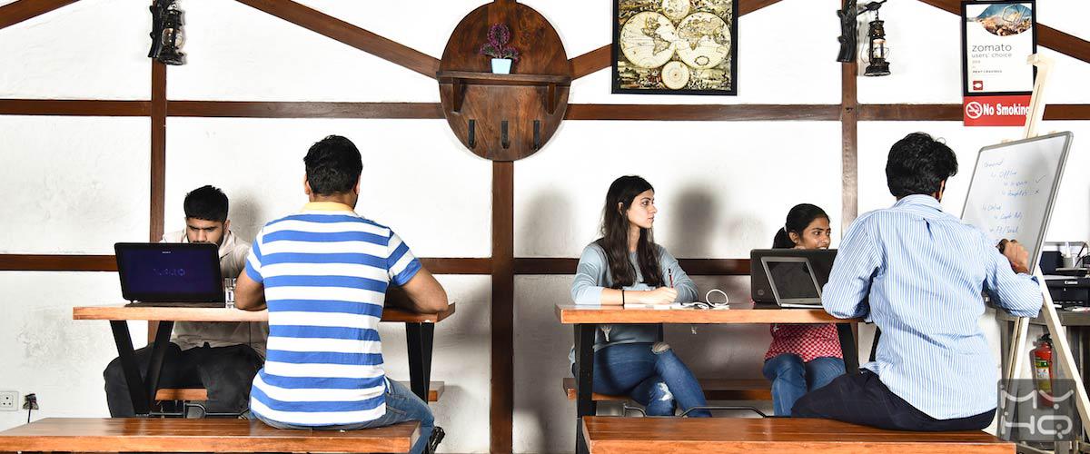 Zu Tisch myHQ Workzone, New Delhi