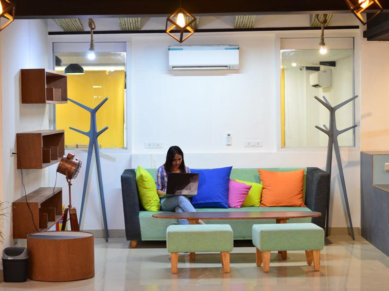 Coworking at myHQ Coregano, Noida