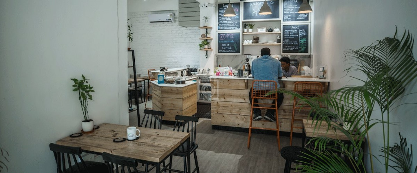 Coworking at The Haven International Coffee House - myHQ, Noida ...