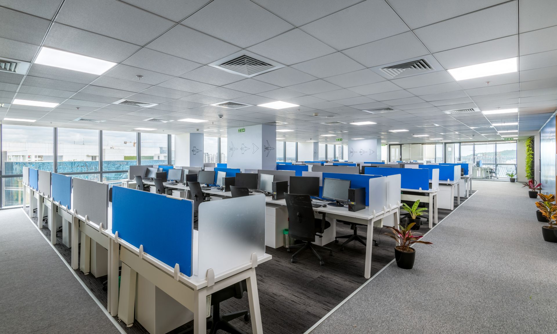 Smartworks Coworking Space Logix Cyber Park, Noida