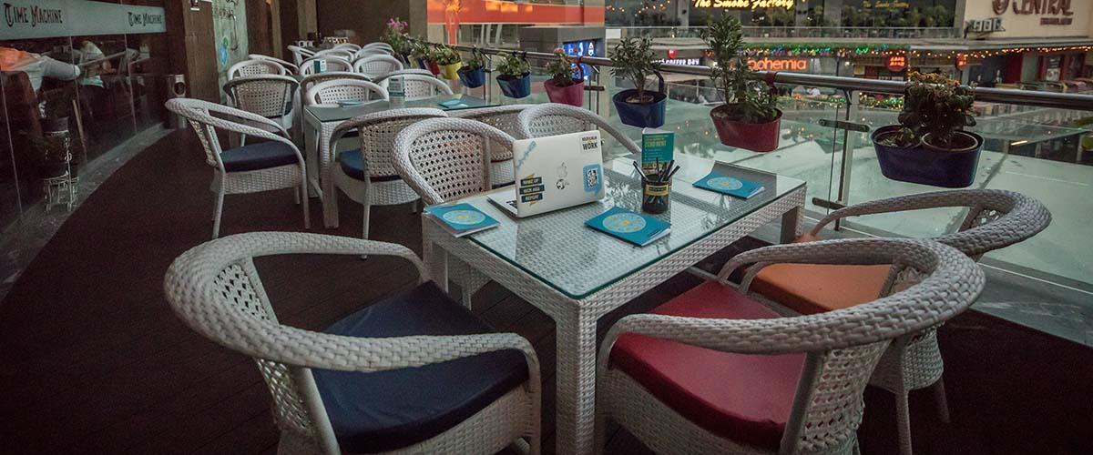 Time Machine - Coworking Lounge Noida - myHQ, Noida