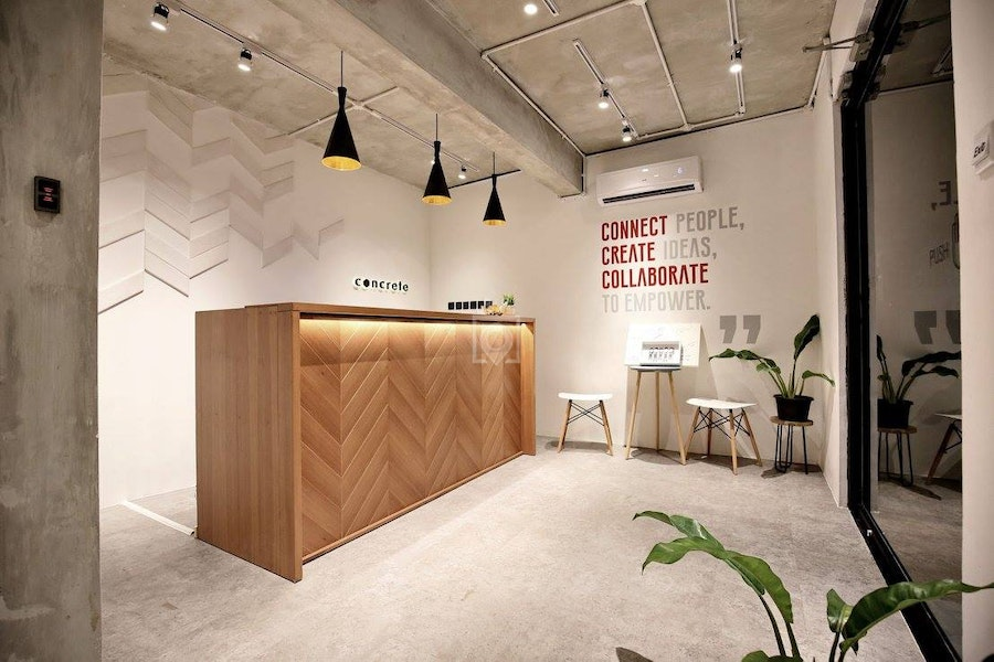 Concrete Co-working Space, Jakarta