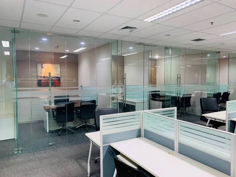 Office Space Fully Furnished Axa Tower Kuningan City Jakarta