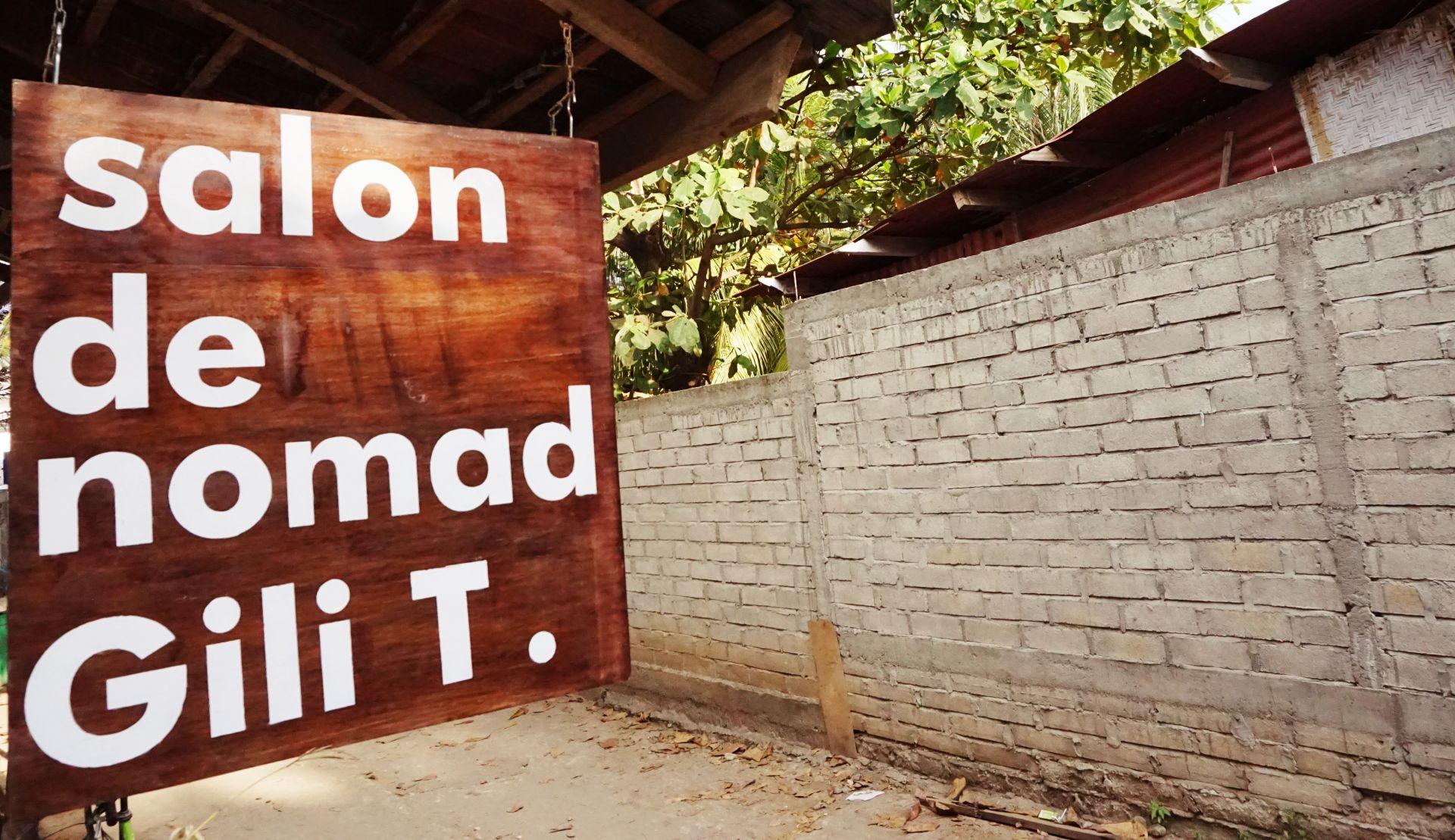 salon de nomad Gili T., Lombok