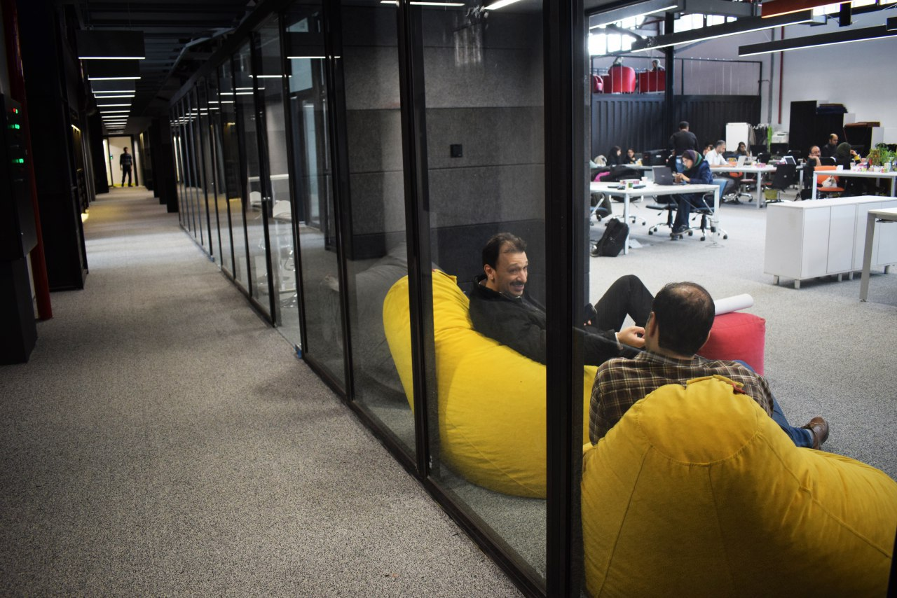 Zavie Coworking Space, Tehran