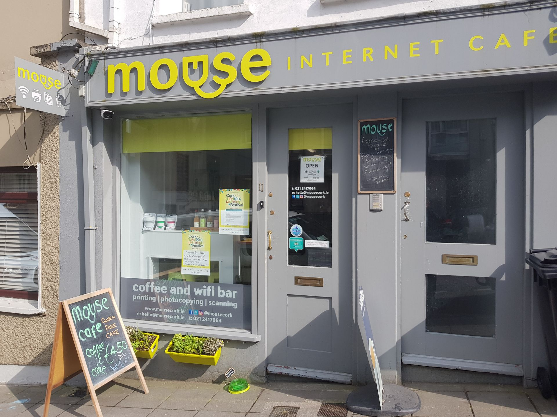Mouse Internet Cafe, Cork