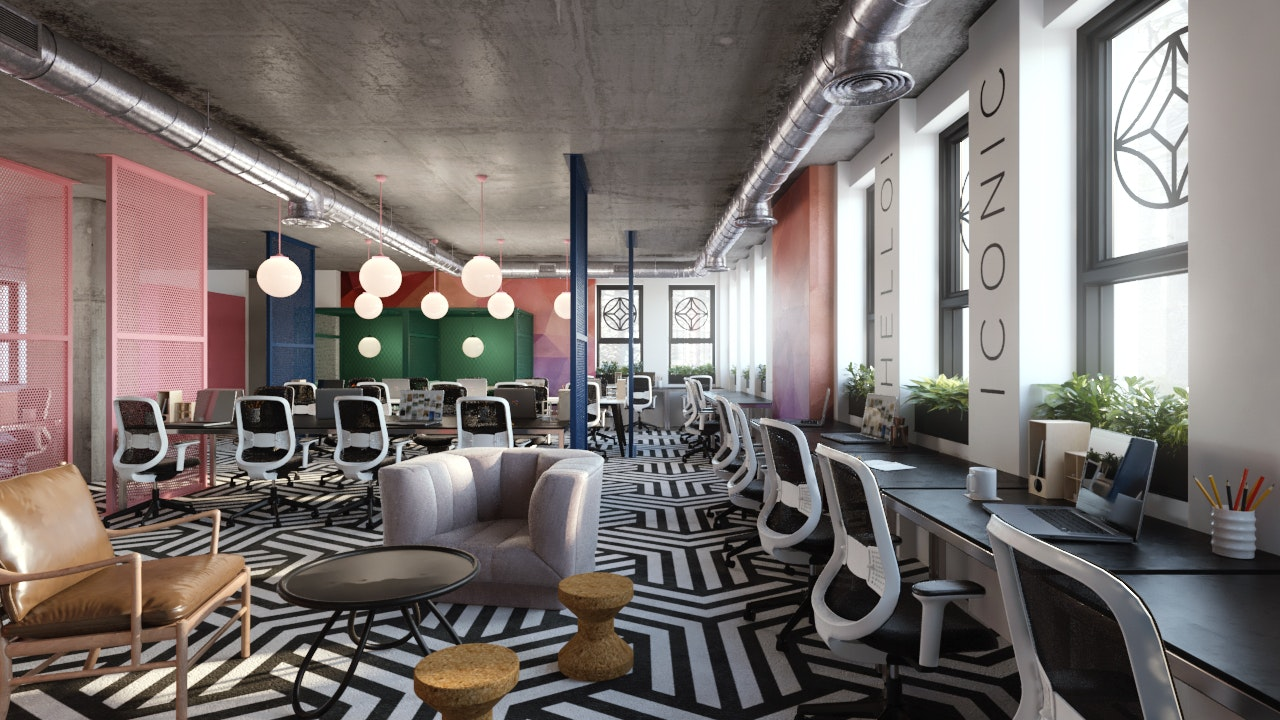 Dublin office space Design Iconic Offices The Greenway Coworkercom Top Coworking Spaces In Dublin Ireland