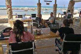 Beachub, Jisr az-Zarqa