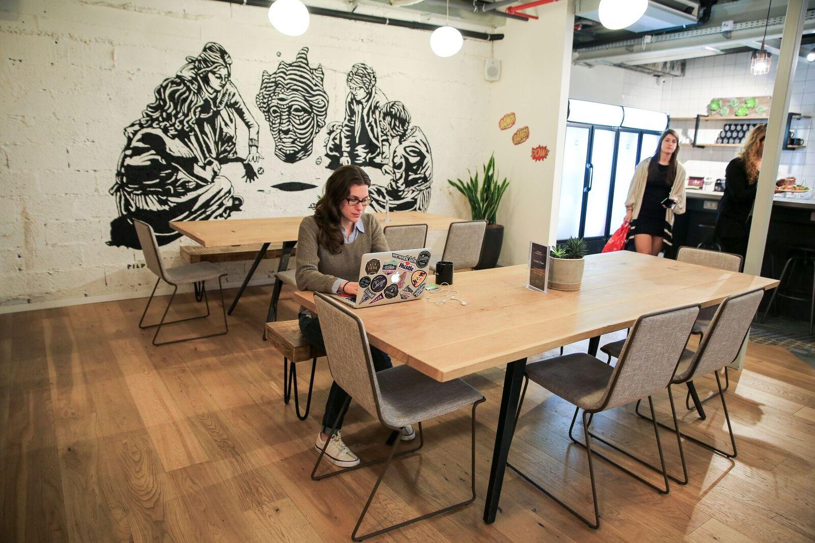 WeWork London Ministore, Tel Aviv
