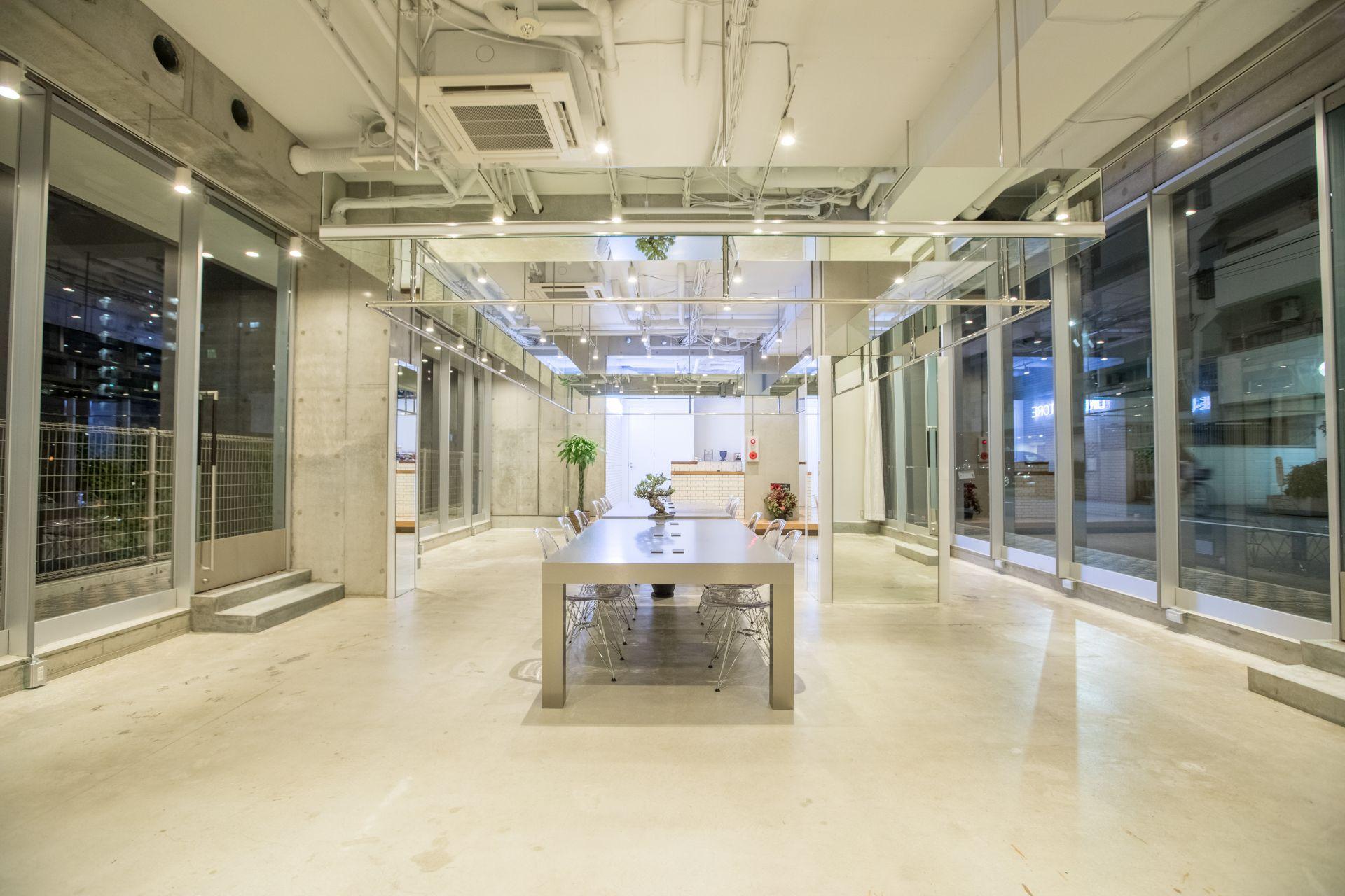 LINE-UP Coworking Space, Osaka
