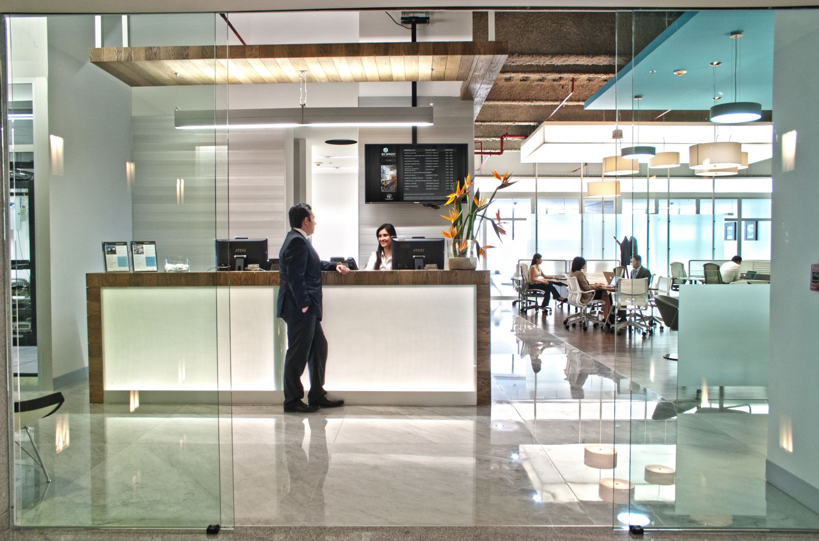 IOS OFFICES CORPORATIVO CEO, Mexico City