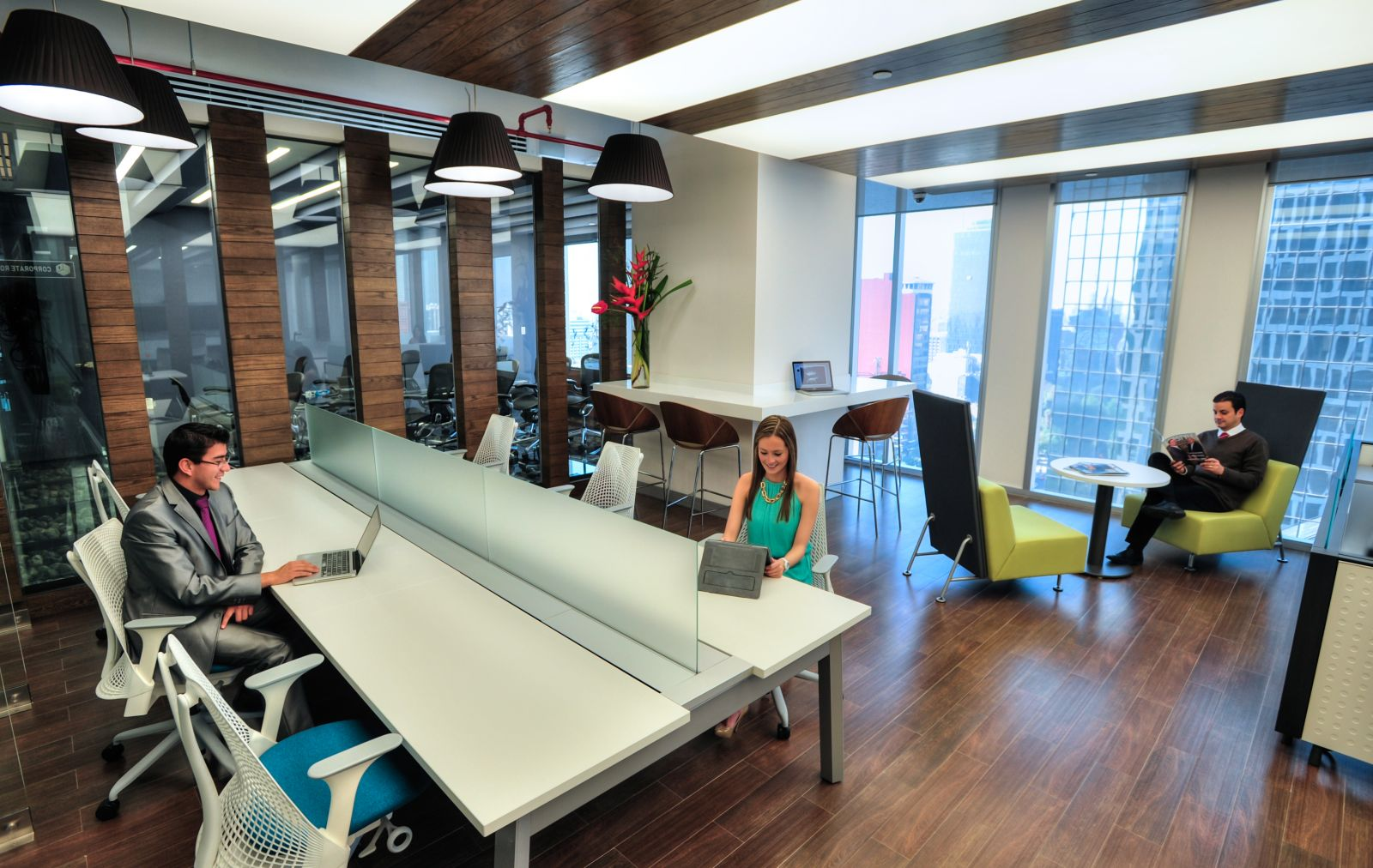IOS OFFICES MAPFRE, Mexico City