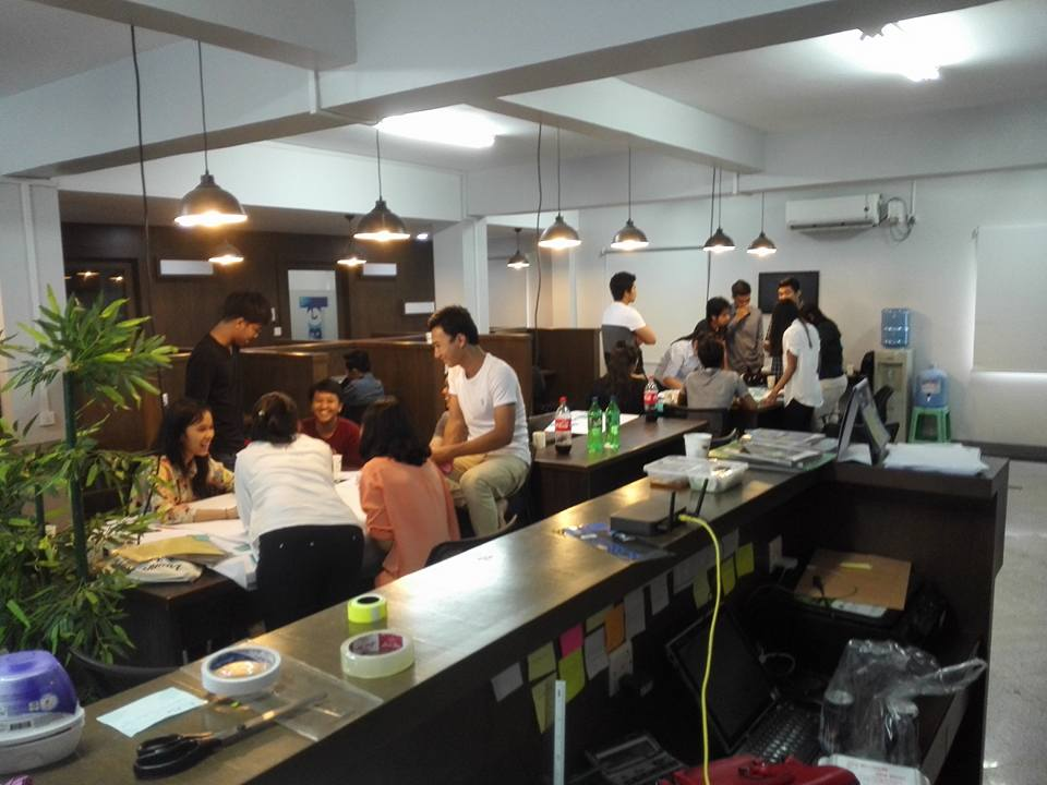 Office cubed, Yangon