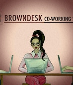 BROWNDESK co-working space profile image