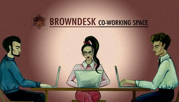 BROWNDESK co-working space image 1