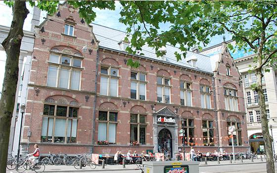Boven de balie, Amsterdam