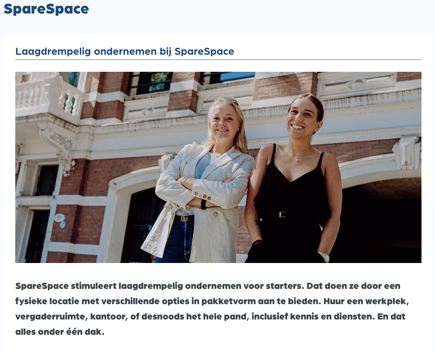 SpareSpace, Rotterdam