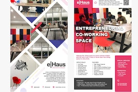 eHaus entrepreneurial co working space, Lahore
