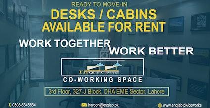 En-Qlab Coworks, Lahore | coworkspace.com