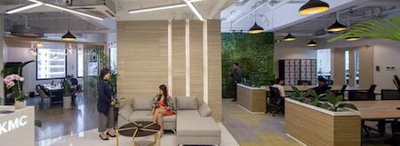 KMC Flexible Workspace in, Makati (Frabelle Building)
