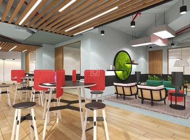 KMC Flexible Workspace at The Podium image 4