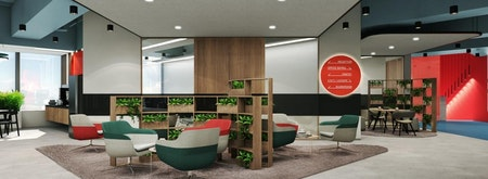 KMC Flexible Workspace at The Podium