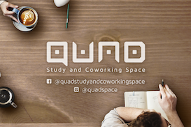 QUAD Study and Coworking Space, Manila