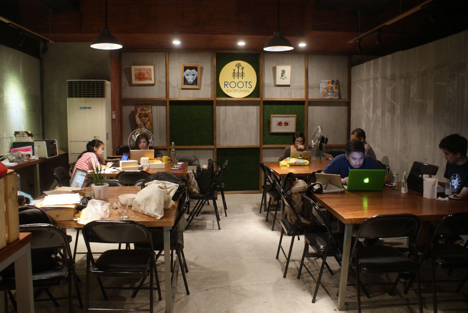 PHP 350 d Roots Katipunan Diligence Cafe