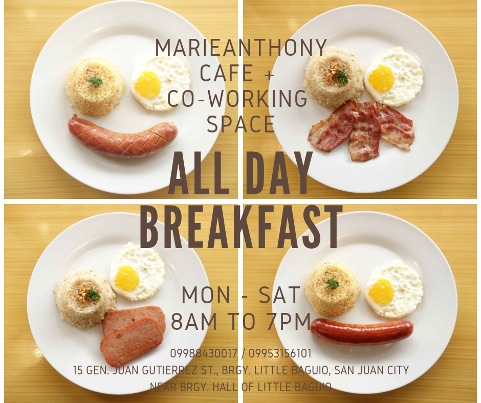 MarieAnthony Cafe + Co-working Space, San Juan