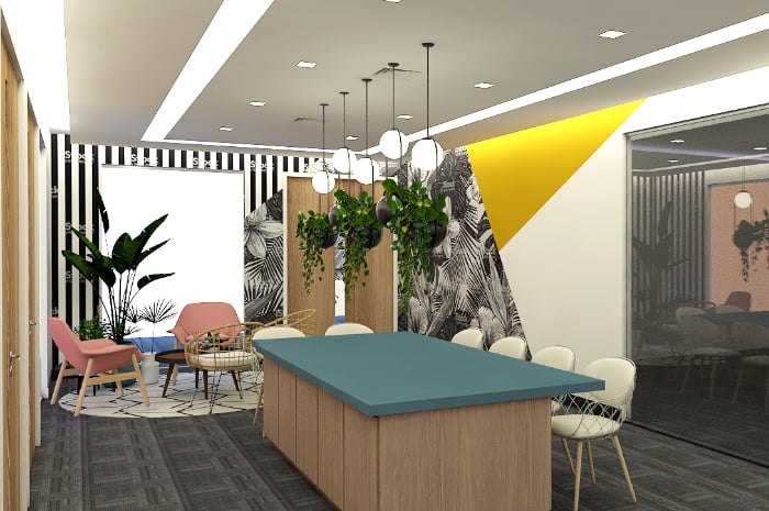 KMC Flexible Workspaces in Uptown Place Tower, 11th Ave Uptown, Taguig