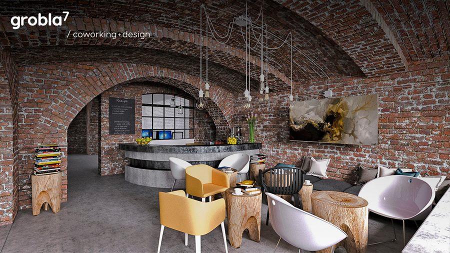 Grobla7 / coworking + design, Poznan