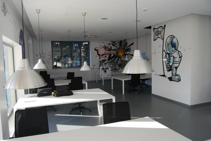 My cowork space, Lisbon