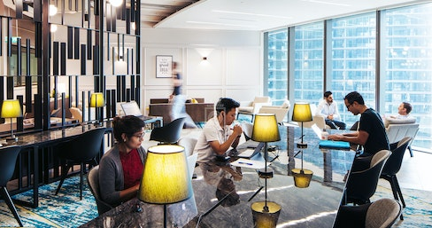JustCo Marina One, Singapore | coworkspace.com