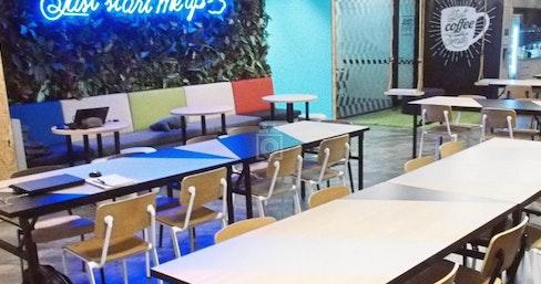 JustCo @ Raffles Quay, Singapore | coworkspace.com