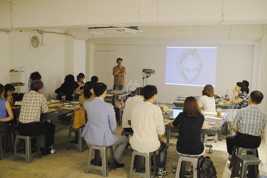 ARTXSTAY Co-working & Gallery in Mullae, Seoul