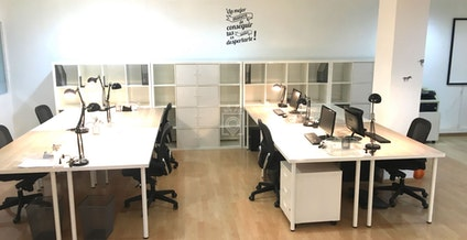 Coworking Lesseps, Barcelona | coworkspace.com