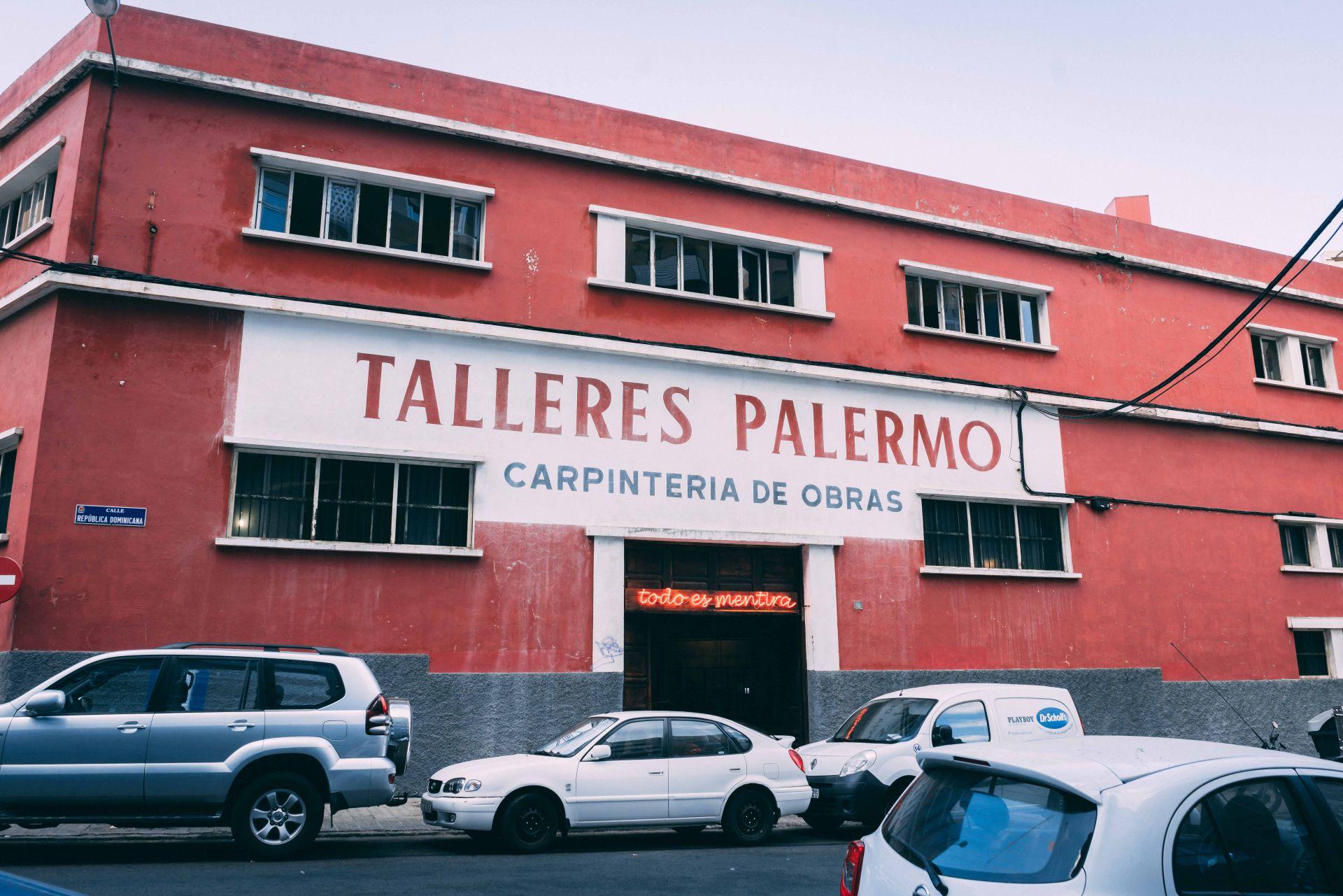 TALLERES PALERMO, Las Palmas