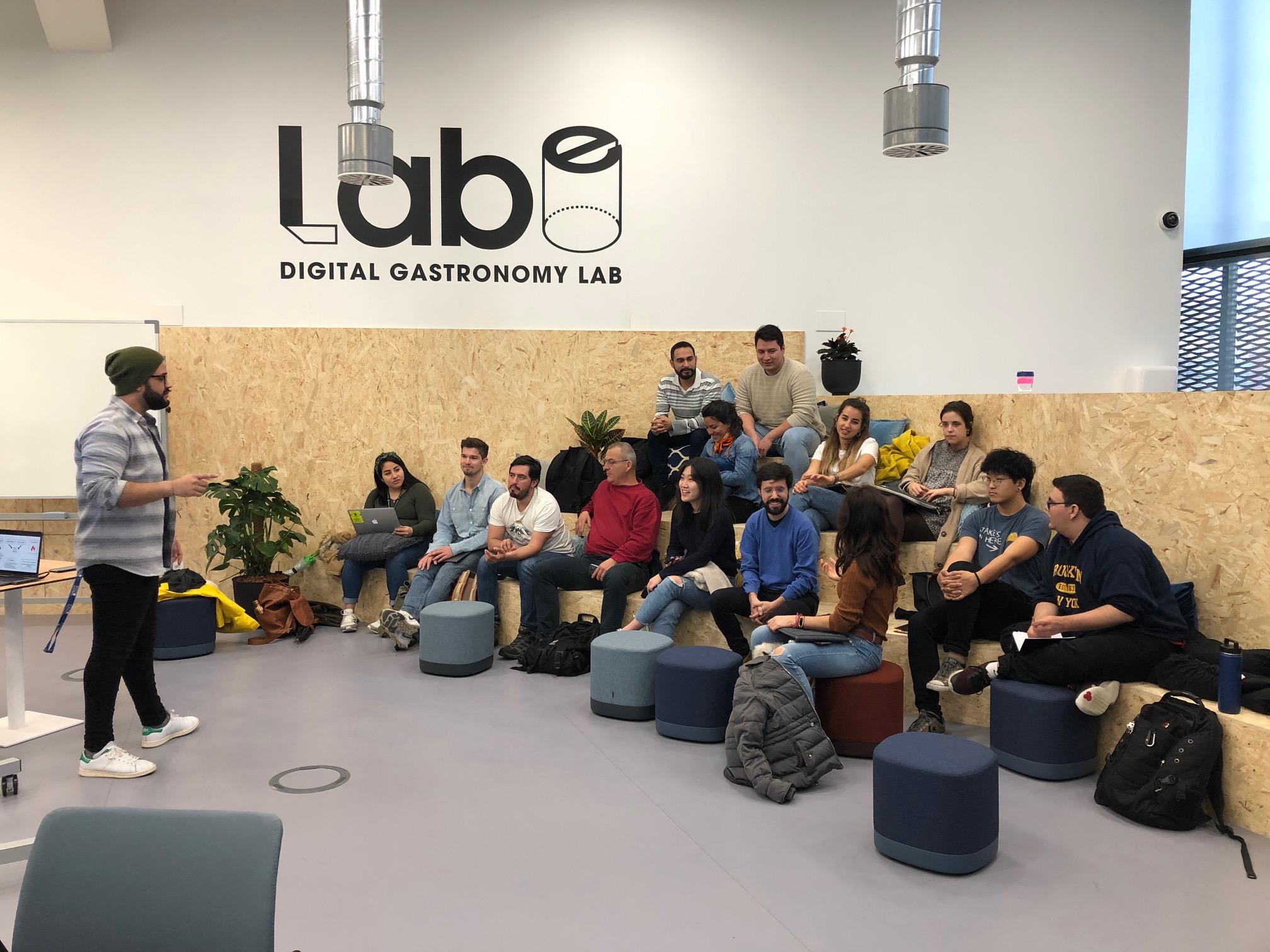 LABe Digital Gastronomy Lab, San Sebastian