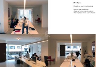 Shared Studio Space Basel (170m2/350CHF) image 2