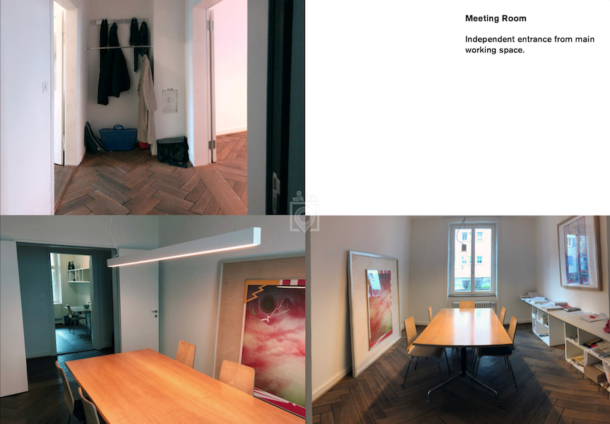 Shared Studio Space Basel (170m2/350CHF), Basel