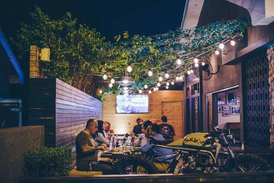 Letswork Bikers Cafe, Dubai